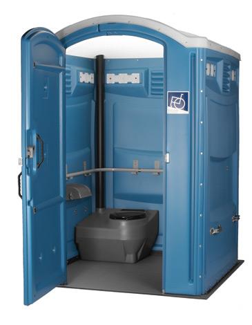 handicap porta potty rental