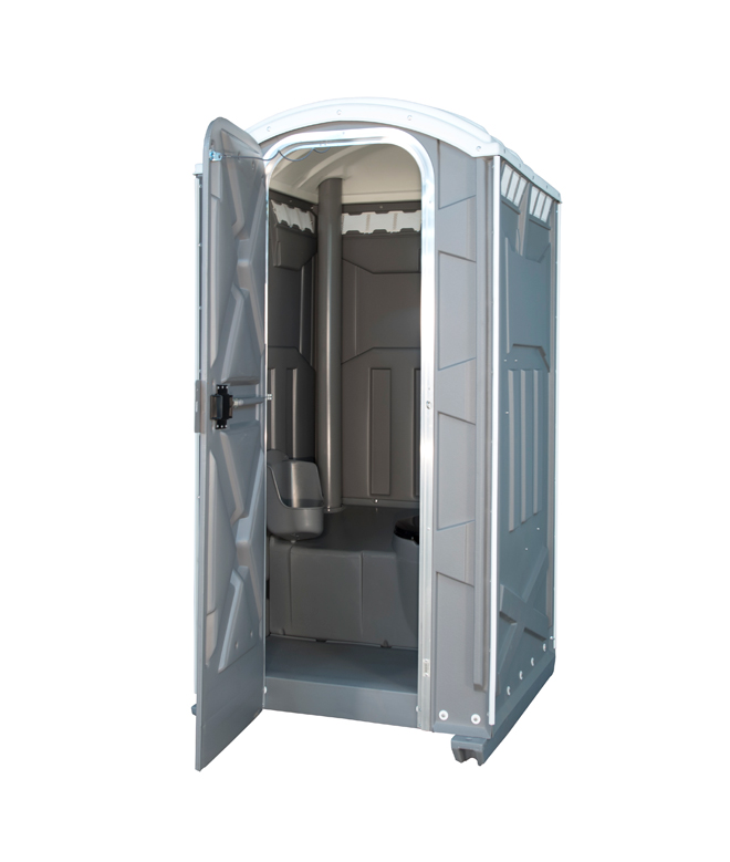 porta potty rental gray