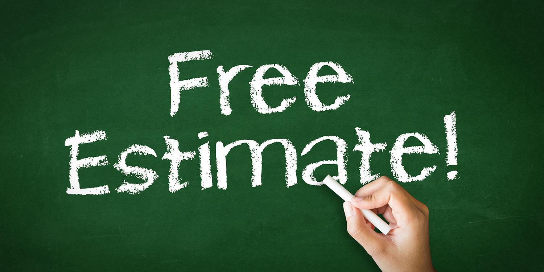 free porta potty estimate